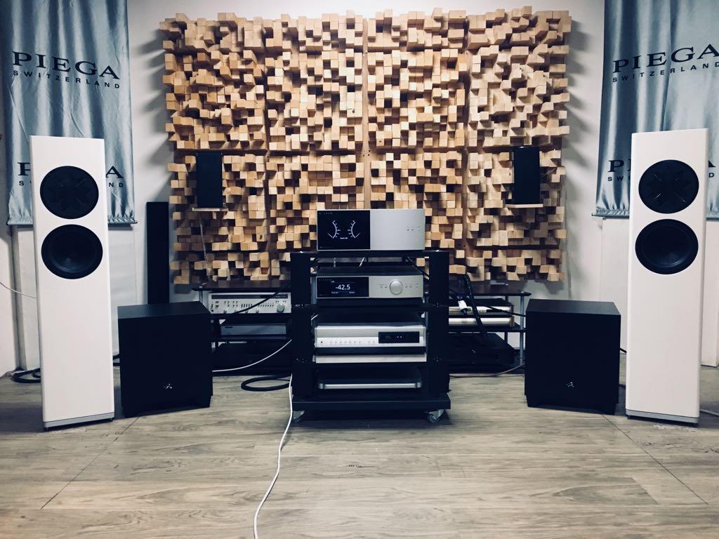 Martin Logan Manger + Anthem STR + Martin Logan 1100X 2